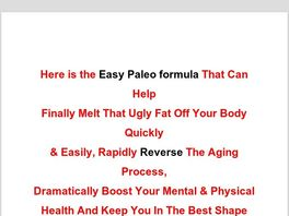 Go to: Paleo Quick And Easy