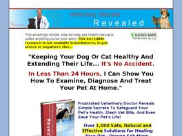 Go to: Veterinary Secrets Revealed
