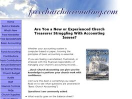 Go to: Church Accounting Package.