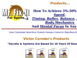 Go to: Mr. Fix-it For Sports