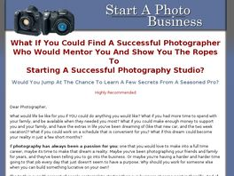 Go to: Building A Successful Photography Busine