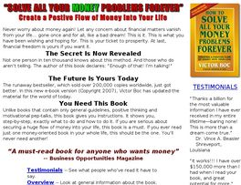 Go to: Solve All Your Money Problems Forever.