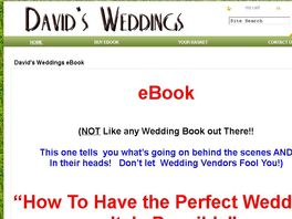 Go to: How To Have The Perfect Wedding - It Is Possible