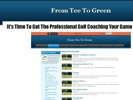 "Go to: Play Better Golf: ""from Tee To Green"" Pga-pro Video Coaching"