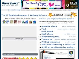 Go to: English Smart Writing Engine.