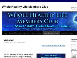 Go to: Whole Healthy Life Members Club