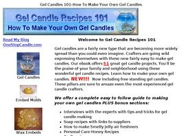 Go to: Gel Candle Recipes 101.