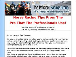 Go to: Private Racing
