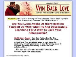 Go to: Win Back Love: How To Get Your Ex Back