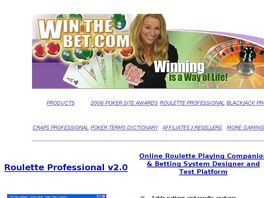 Go to: WinTheBet.net - Roulette & Blackjack Software.