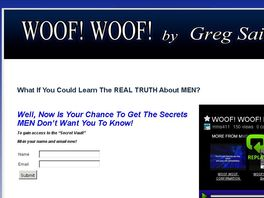 Go to: Woof! Woof! By Greg Sain