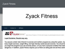 Go to: Zyack Fitness Program