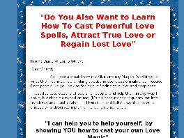 Go to: Love Spells.