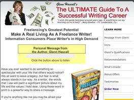 Go to: CB Exclusive** 50% Commissions - 6 Figure Income Freelance Writer