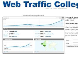 Go to: Web Traffic College