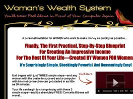 Go to: Woman's Wealth System-bank On The World's Richest Niche!