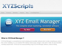 Go to: Xyz Email Manager - Email Marketing & Newsletter Software