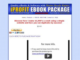 Go to: iProfit-eBook-Package