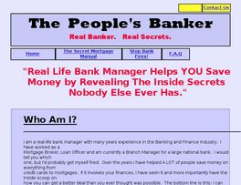 Go to: The Peoples Banker.