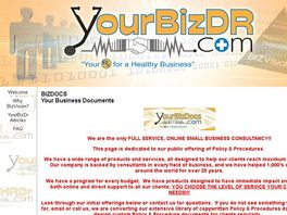 Go to: YourBizDr.Com - Small Business Managment Services