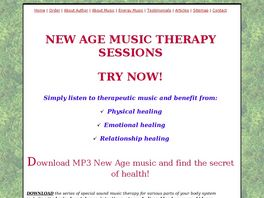 Go to: Healing Music Sessions