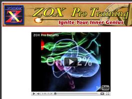 Go to: Ultimate Brain Power Training - Zox Pro Training System