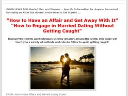 Go to: How To Cheat & Not Get Caught - Married Dating